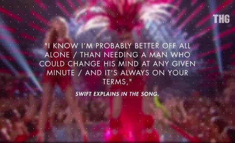 Taylor Swift Pens Break-Up Song