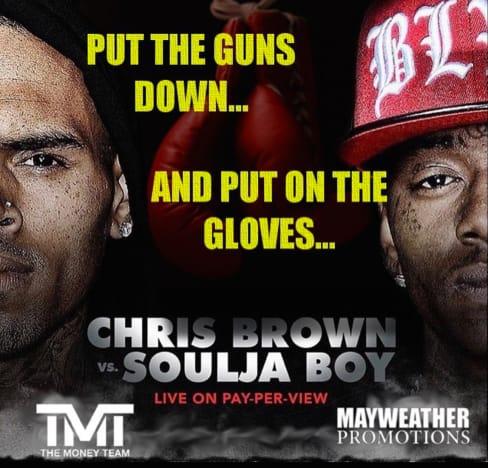 Chris Brown-Soulja Boy Fight