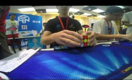Teenager Solves Rubik's Cube in HOW Long?!?