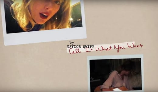 Taylor Swift, Call It What You Want