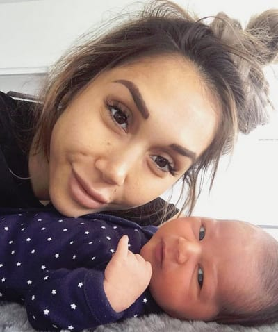 Chontel Duncan with Second Baby