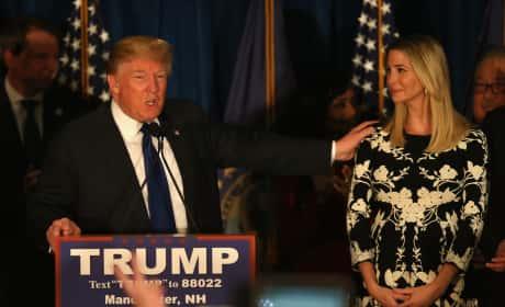 Ivanka and Donald Trump