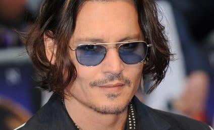 Johnny Depp: Dating Robin Baum?