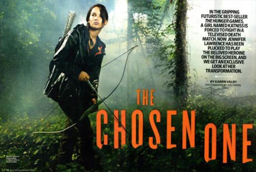 Jennifer Lawrence as Katniss Everdeen