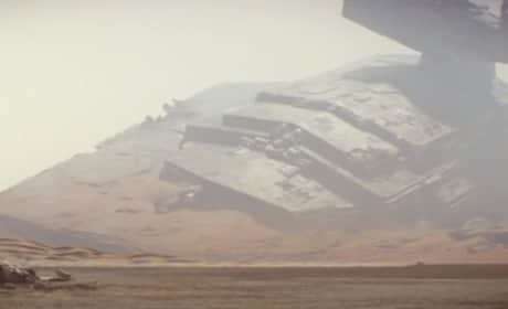 The Force Awakens: Crashed X-Wing