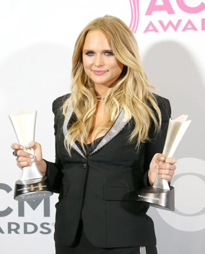 Miranda Lambert With CMA Awards