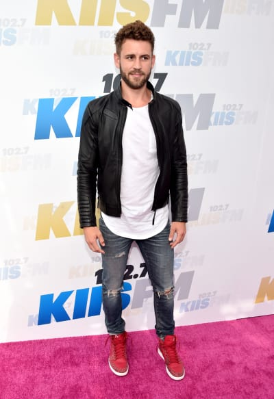 Nick Viall on the Red Carpet