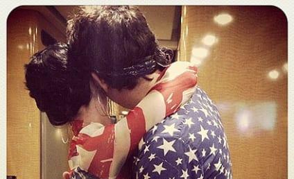 Katy Perry, John Mayer Share Patriotic July 4 Embrace