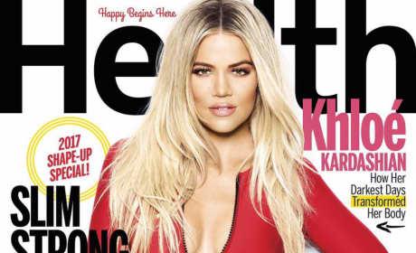 Khloe Kardashian Health Cover