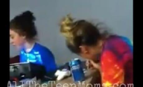 Jenelle Evans: Snorting Drugs?