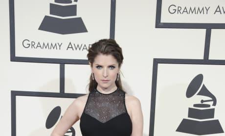 Anna Kendrick at 2016 Grammys