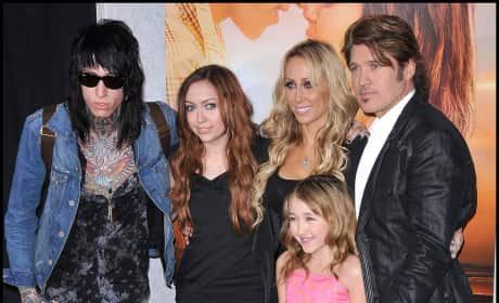 Billy Ray and Trace Cyrus