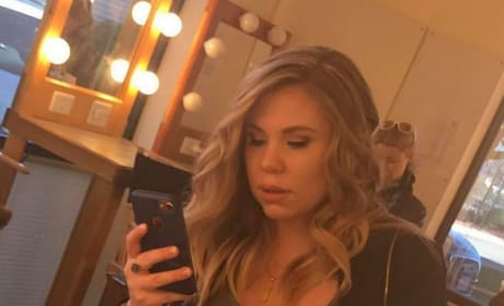 Kailyn Lowry Backstage