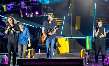 One Direction as a Quartet