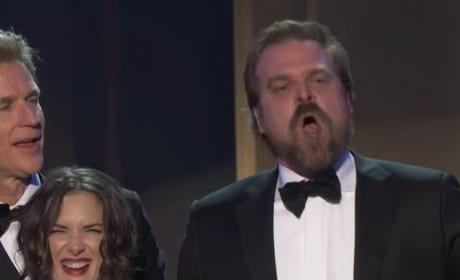 Stranger Things Wins Top SAG Award, Star Gives Rousing Acceptance Speech