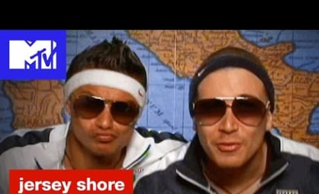 Pauly D and Vinny Guadagnino Go Full Guido