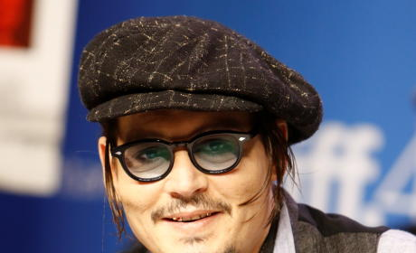 Johnny Depp at the Toronto Film Festival