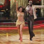 Chad Ochocinco and Cheryl Burke Dancing