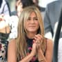 Jennifer Aniston Applauds