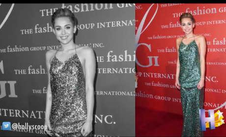 Miley Cyrus: Glamorous Fashion Alert!
