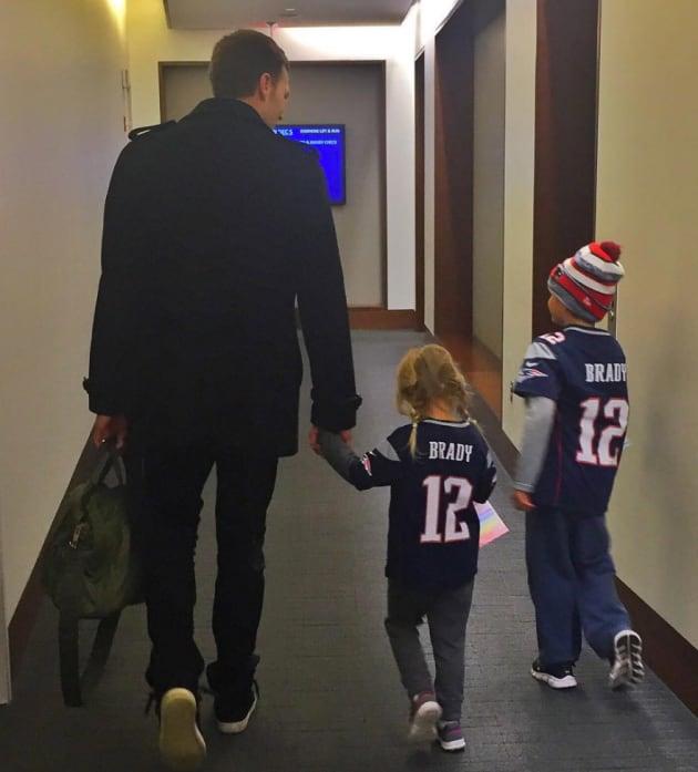 Tom Brady, Sons - The Hollywood Gossip
