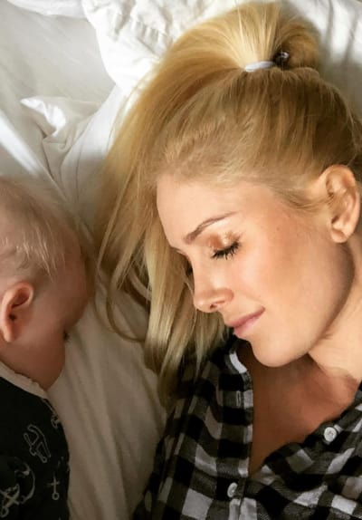 Heidi Montag with Son