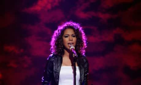 Michelle Delamor on Idol