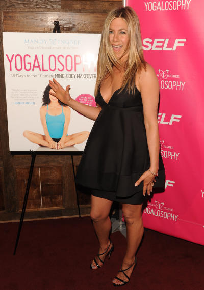 Jennifer Aniston Babydoll Dress