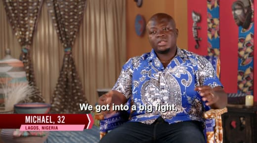 Michael Ilesanmi - we got into a big fight
