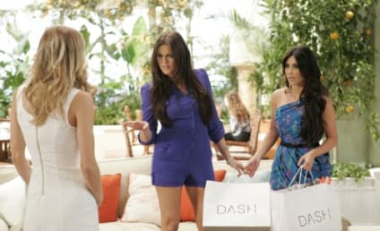 Khloe and Kim Kardashian on 90210: First Look