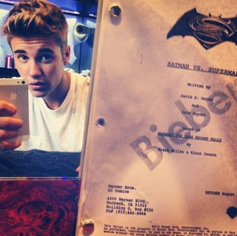 Justin Bieber Instagram Tease