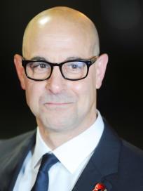 Stanley Tucci at Catching Fire Premiere