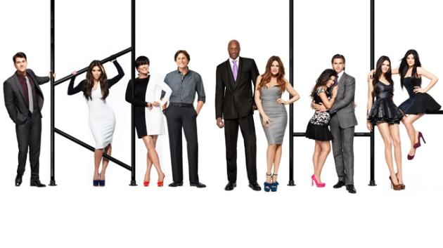 Keeping Up with the Kardashians Cast Pic