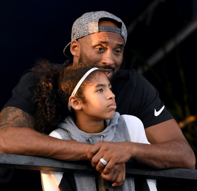 Kobe and gianna picture