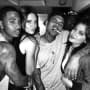 Chris Brown Clubs with Kylie and Kendall Jenner: See the Photos!