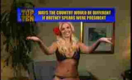 Britney Spears: Letterman Top 10 List