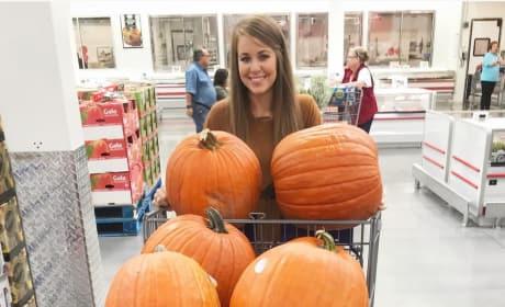 Jana Duggar and Pumpkins