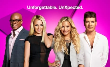 The X Factor Season 2 Poster: Unforgettable. UnXpected.