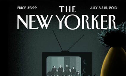 Bert and Ernie New Yorker Cover Celebrates Gay Marriage Rulings