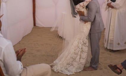 Naya Rivera Shares New Wedding Ceremony Photo: Do You Like Her Dress?