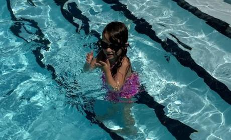 Leah Messer Proudly Shows Video of Disabled Daughter Swimming