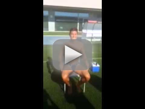 Cristiano Ronaldo Accepts Ice Bucket Challenge