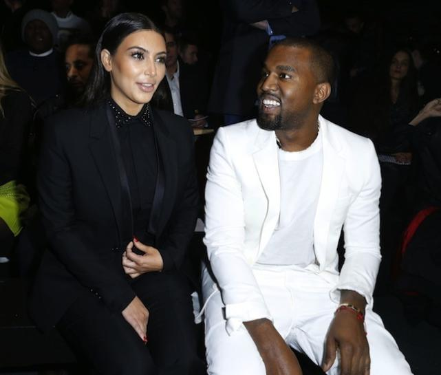 Kim Kardashian and Ye