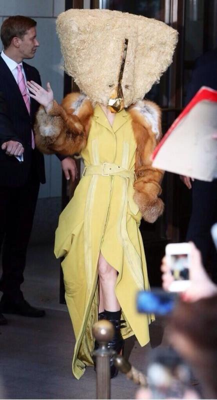 Why Does Lady Gaga Look Like a Hash Brown?