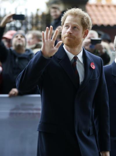 Prince Harry Says Hi