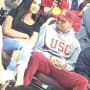 Cydney Christine and Chris Brown Photo