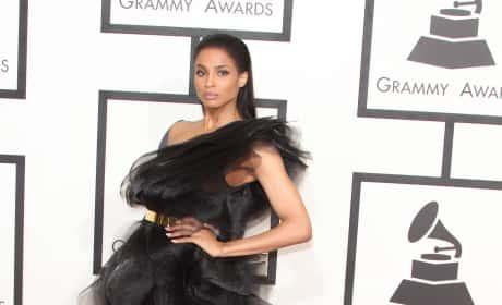 Ciara at the 2015 Grammys