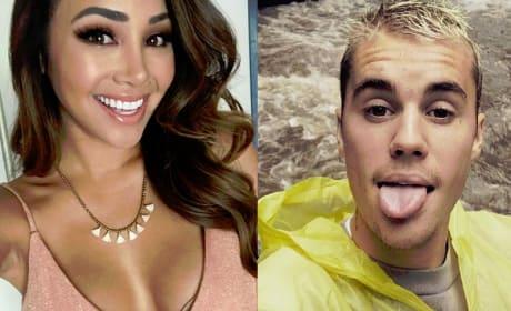 Danielle Lombard, Justin Bieber Split