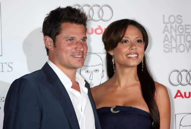 Nick Lachey And Vanessa Minnillo Red Carpet