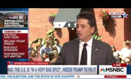 Scott Baio and Antonio Sabato Jr. Look Like Idiots At Republican National Convention